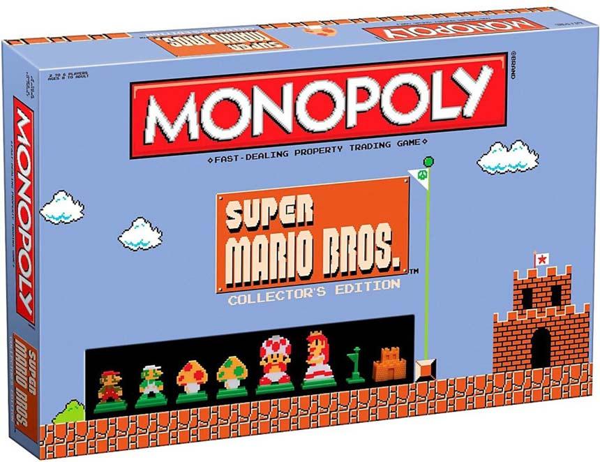 Monopoly Gamer El Clasico Juego De Mesa Version Super Mario