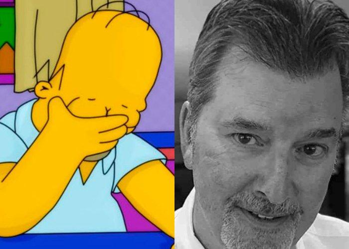homero David Richardson Los Simpson